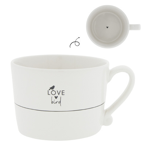Bastion Collections Cup White/Love Bird